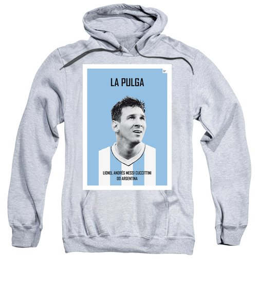 My Messi Soccer Legend Poster Sweatshirt by Chungkong Art