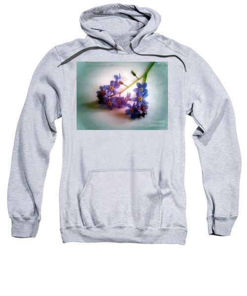 Myosotis  Forget Me Not Sweatshirt