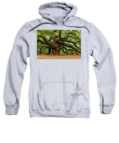 Mystical Angel Oak Tree Sweatshirt