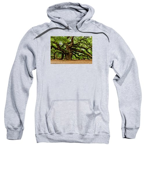 Mystical Angel Oak Tree Sweatshirt