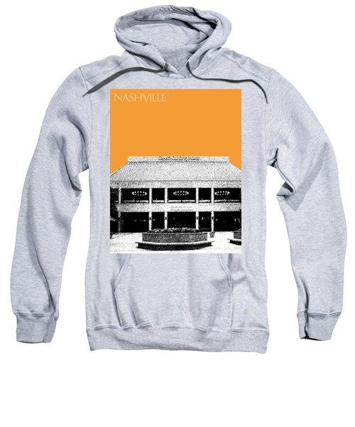 Nashville Skyline Grand Ole Opry - Orange Sweatshirt