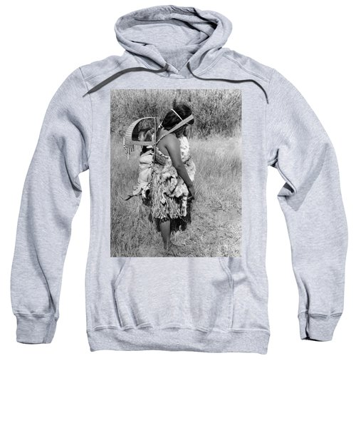 Native American Mother And Baby Sweatshirt