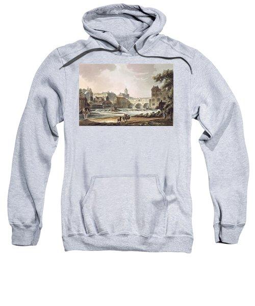 New Bridge, From Bath Illustrated Sweatshirt