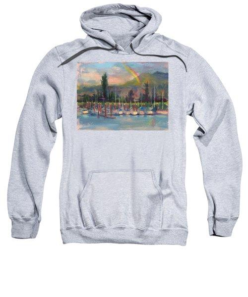 New Covenant - Rainbow Over Marina Sweatshirt