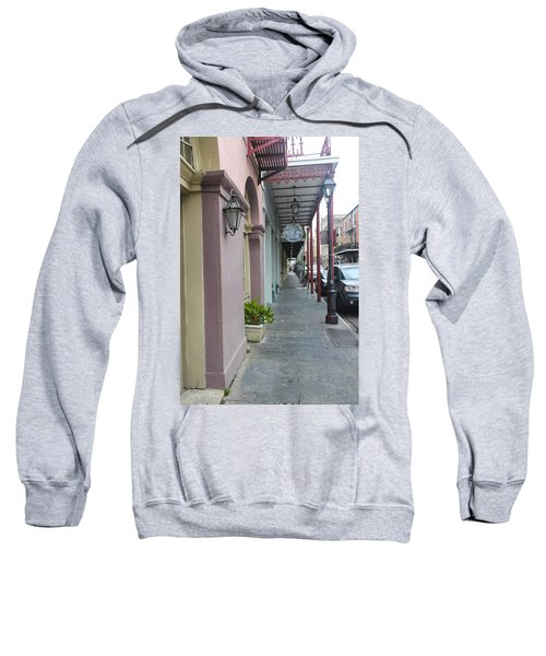 French Quarters In New Orleans 16 Sweatshirt