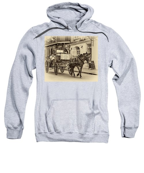 New Orleans - Carriage Ride Sepia Sweatshirt