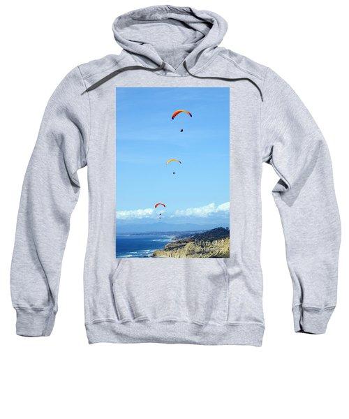 New Photographic Art Print For Sale Hanggliding 11 Sweatshirt