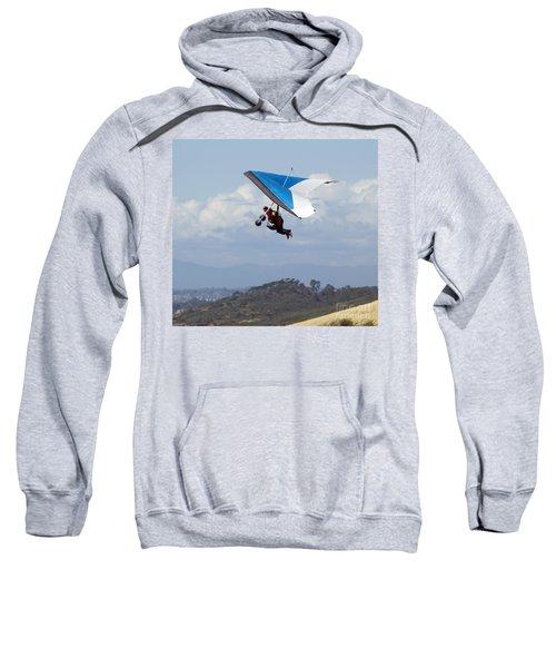 New Photographic Art Print For Sale Hanggliding 5 Sweatshirt