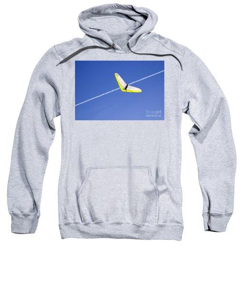 New Photographic Art Print For Sale Hanggliding 7 Sweatshirt