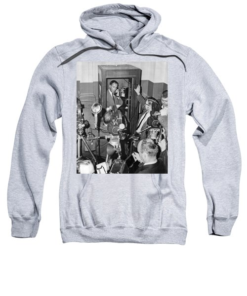 New Site For Clay-liston Fight Sweatshirt
