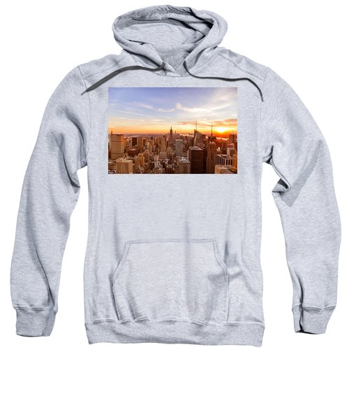 New York City - Sunset Skyline Sweatshirt