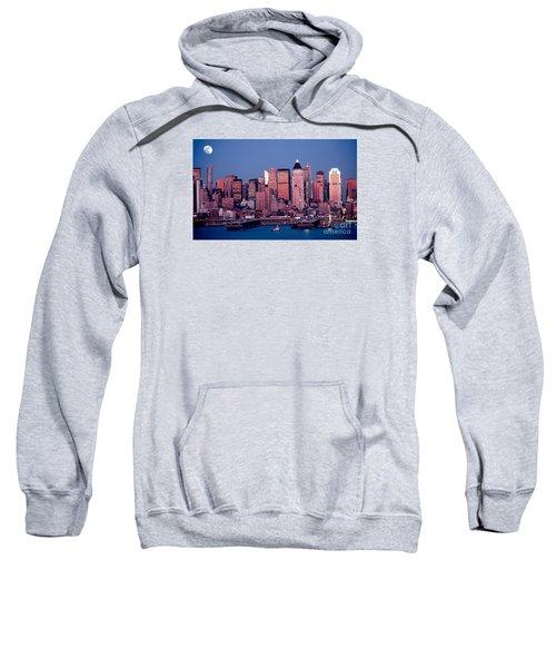 New York Skyline At Dusk Sweatshirt