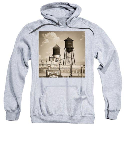 New York Water Tower 8 - Williamsburg Brooklyn Sweatshirt