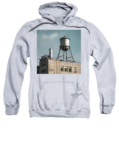 New York Water Towers 10 Sweatshirt