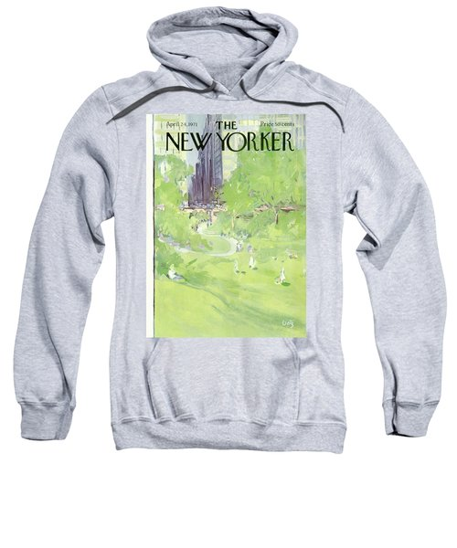 New Yorker April 24th, 1971 Sweatshirt