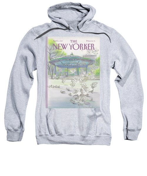 New Yorker April 6th, 1987 Sweatshirt