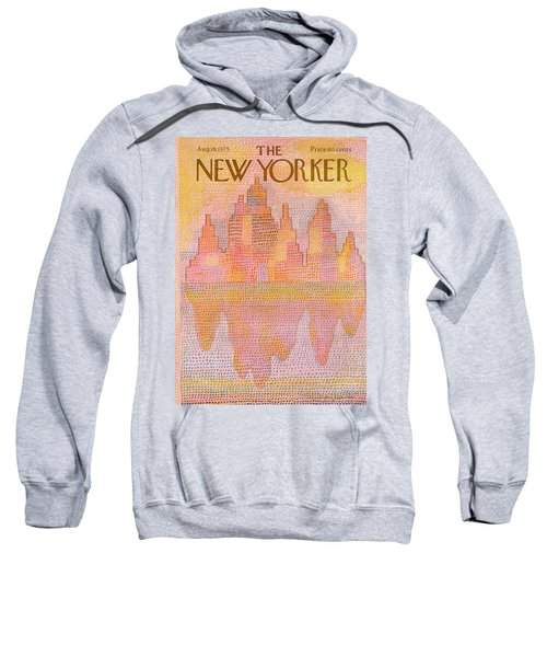 New Yorker August 18th, 1975 Sweatshirt