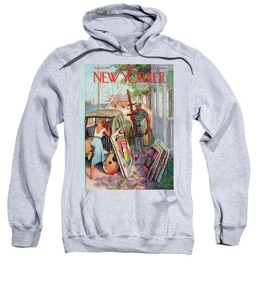 New Yorker August 30th, 1958 Sweatshirt