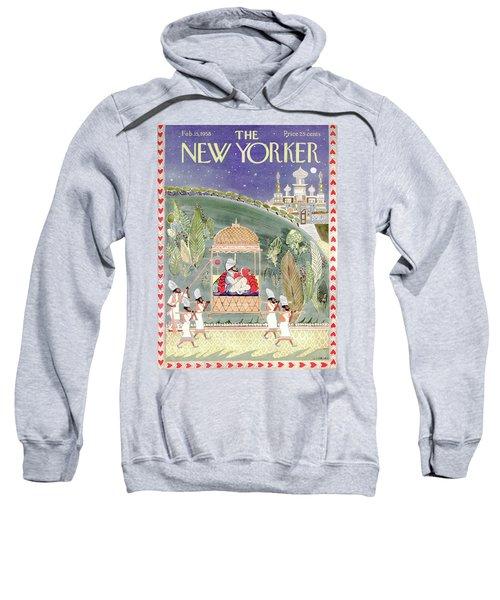New Yorker February 15th, 1958 Sweatshirt