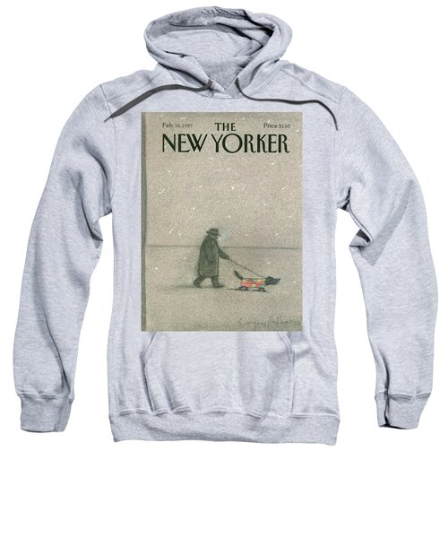 New Yorker February 16th, 1987 Sweatshirt