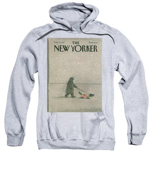New Yorker February 16th, 1987 Sweatshirt