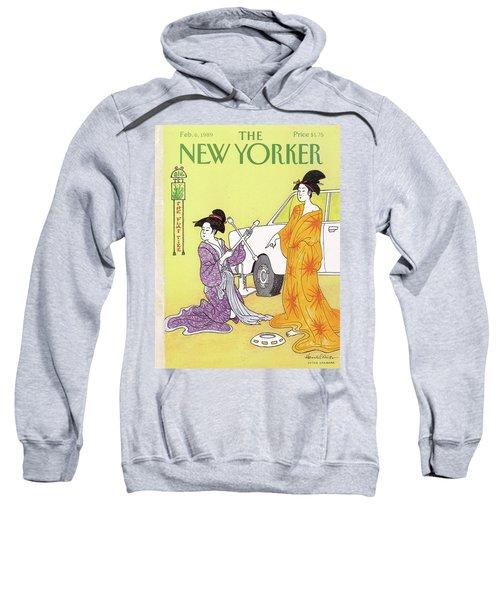 New Yorker February 6th, 1989 Sweatshirt