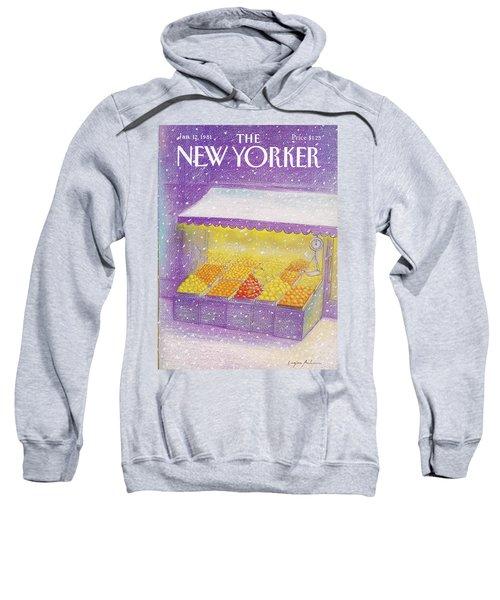 New Yorker January 12th, 1981 Sweatshirt