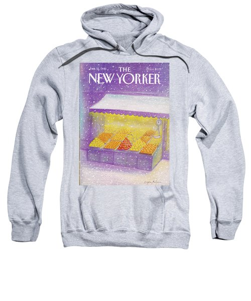New Yorker January 12th, 1981 Sweatshirt