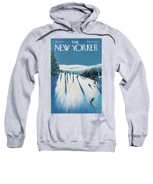 New Yorker January 20th, 1973 Sweatshirt