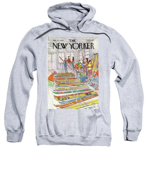 New Yorker January 21st, 1980 Sweatshirt