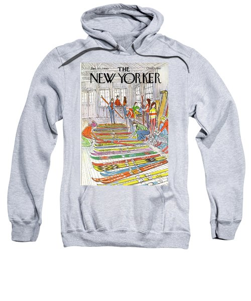New Yorker January 21st, 1980 Sweatshirt