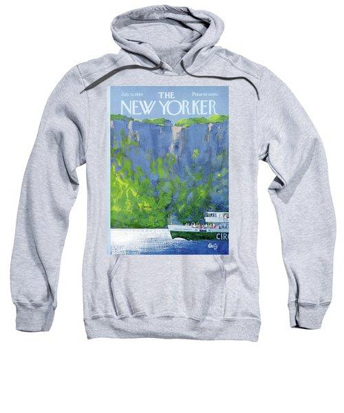New Yorker July 12th, 1969 Sweatshirt