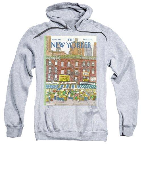 New Yorker July 18th, 1983 Sweatshirt