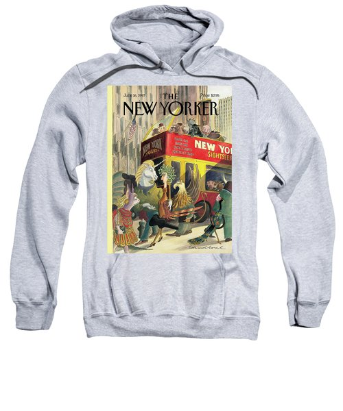 New Yorker June 16th, 1997 Sweatshirt