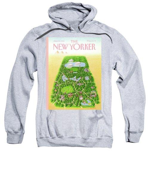 New Yorker June 25th, 1990 Sweatshirt