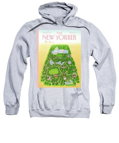New Yorker June 25th, 1990 Sweatshirt