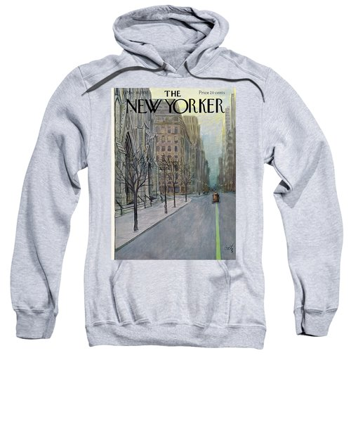 New Yorker March 16th, 1957 Sweatshirt