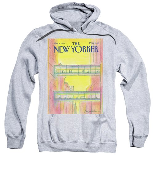 New Yorker March 4th, 1985 Sweatshirt