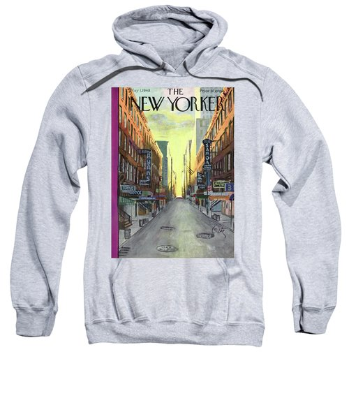 New Yorker May 1st, 1948 Sweatshirt