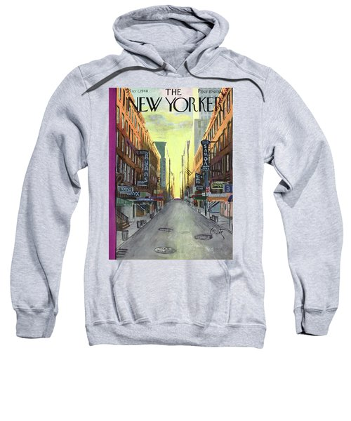 New Yorker May 1st, 1948 Sweatshirt