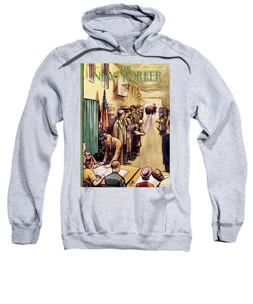 New Yorker November 4th, 1950 Sweatshirt