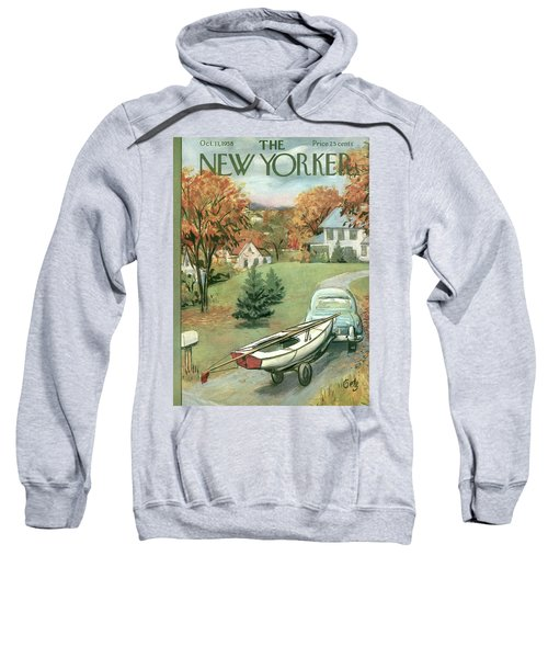 New Yorker October 11th, 1958 Sweatshirt