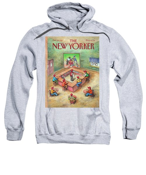 New Yorker October 19th, 1987 Sweatshirt