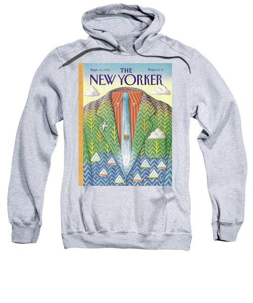 New Yorker September 16th, 1991 Sweatshirt