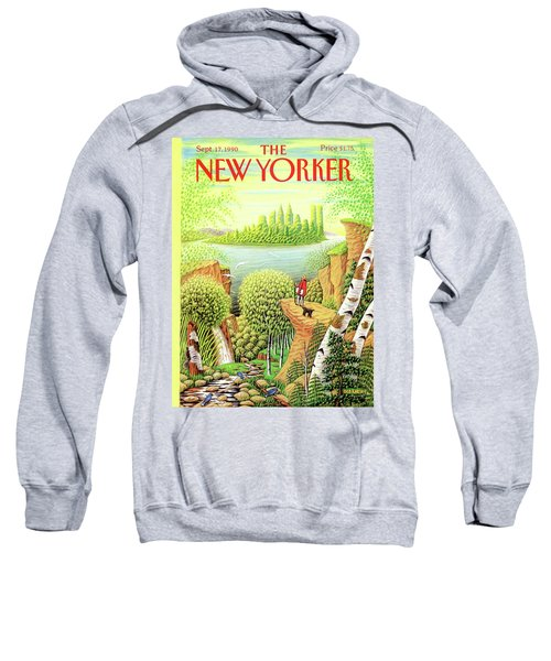 Green New York Sweatshirt