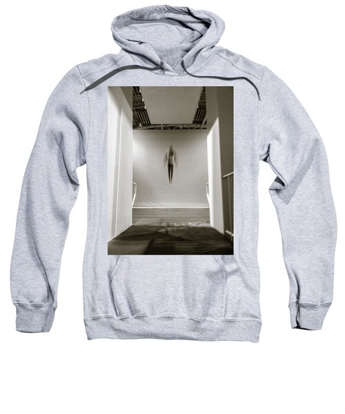 Sweatshirt featuring the photograph Newton's First Law by Alex Lapidus