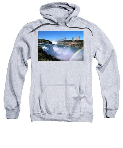 Niagara Falls Double Rainbow Sweatshirt