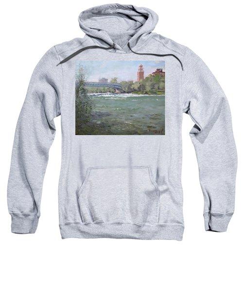 Niagara Falls River Ny Sweatshirt