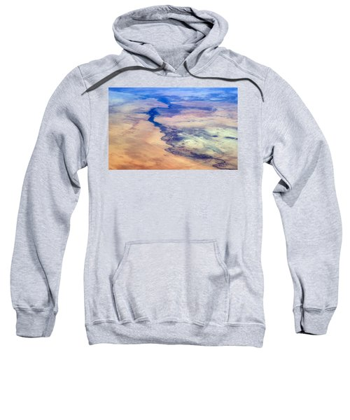 Nile River From The Iss Sweatshirt