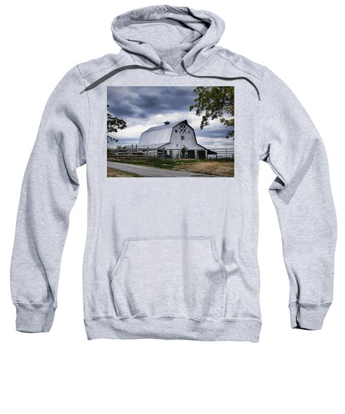 Nine Patch Quilt Barn Sweatshirt